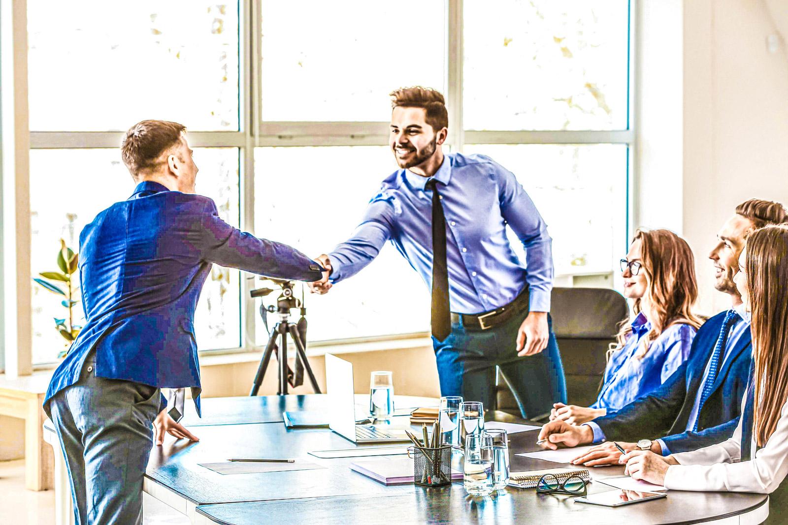 JK Executive Handshake